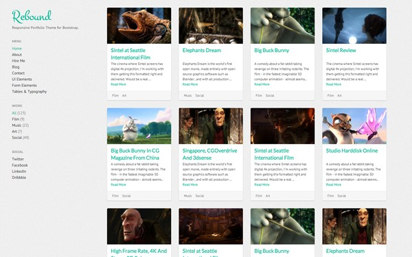 Pinterest HTML Site Templates WrapBootstrap Template Html