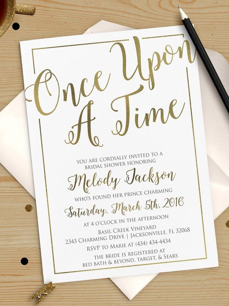 Printable Bridal Shower Invitations You Can DIY Wedding
