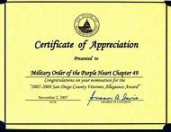 Best Appreciation Certificate Ideas And Images On Bing Find What Veterans Template